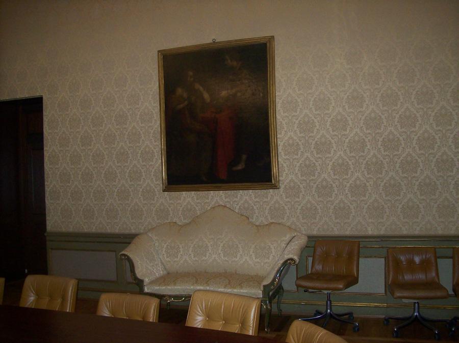 Decorazione d'interni stile classico banca BNL Torino