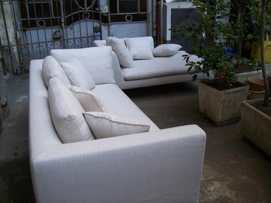 Rifacimento divano multi angolare