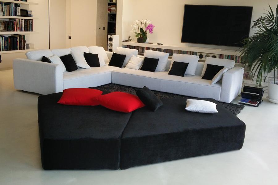 Rifacimento totale divani multiposti